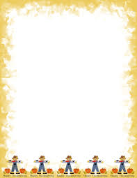 thanksgiving stationery paper autumn or fall 2 free stationery com template downloads