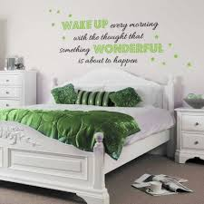bedroom decor wall decals quotes superb on inspirational home