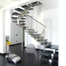 Stainless Steel Banister Steel Banister Rail Cable Staircase Steel Railings For Stairs