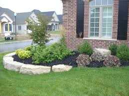 Backyard Flower Bed Ideas Nice Flower Bed Ideas Front Of House Yard And Backyard Landscaping