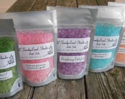 bath salts u0026 scrubs etsy