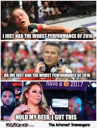 Mariah Carey Meme - mariah carey new year 2017 hold my beer funny meme pmslweb