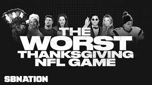 the worst thanksgiving nfl 2012 sbnation