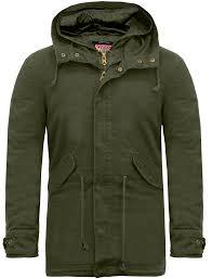 laundry by design hooded jacket yoakam cotton twill parka jacket in rosin khaki tokyo laundry