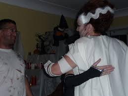 Monster Bride Halloween Costume Bride Of Frankenstein Costume Tutorial