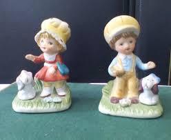 homco 1430 ceramic boy figurine with dog u0026 ceramic with dog