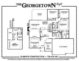 3 car garage dimensions the georgetown model klimaitis builders kci