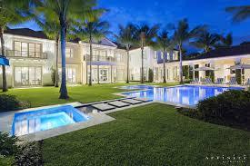 dutch west indies estate tropical exterior miami estate homes affiniti architects