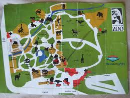 Zoo Map Auckland Zoo Map 1995 Zoochat