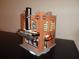 department 56 harley davidson snow barn company store