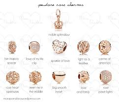 rose gold bracelet with charms images Preview pandora rose collection official release mora pandora png