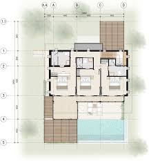 Bedroom Floor Planner by 4 Bedroom Floor Plans Bay Villas Koh Phangan Koh Phangan