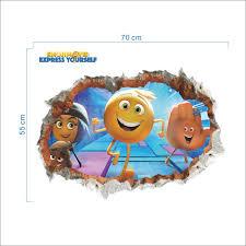 film kartun anak online online shop emoji film mengekspresikan diri gen hi 5 wall stiker