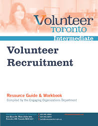 management resources volunteer toronto