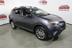 toyota sport utility vehicles new 2017 toyota rav4 platinum sport utility in escondido hw360934