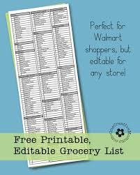 freebie friday printable grocery list onecreativemommy com