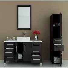 bathroom astonishing modern black bathroom vanity home design