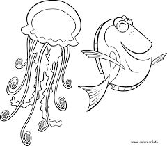 medusa pez finding nemo printable coloring pages kids