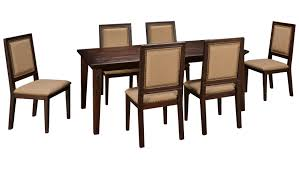 7 Piece Dining Room Set by Jofran Geneva Hills Jofran Geneva Hills 7 Piece Dining Set