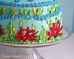 How To Make A Little Mermaid Birthday Cake 3 Little Greenwoods
