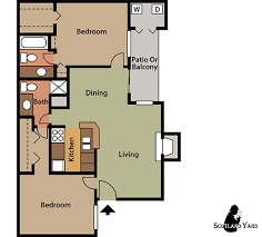 Two Bedroom Floor Plans Houston 1 U0026 2 Bedroom Apartments Floor Plans Spring Texas The