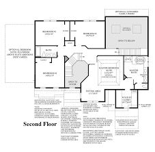 Master Bedroom Suites Floor Plans Alexandria Estates The Columbia Ii Home Design