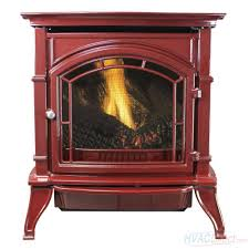 ashley hearth products 31 000 btu vent free natural gas stove red