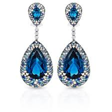 blue topaz earrings king jewelers blue topaz drop earrings king jewelers