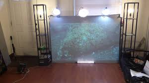 see the best projection screen paint gain you will ever see youtube