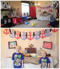 Pirate Themed Home Decor by Jake And The Never Land Pirates Birthday Party