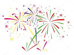 fuochi d artificio clipart vector fireworks background â stock vector â dmstudio 26827187