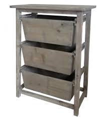 console 3 tiroirs meuble de rangement table de nuit à 3 tiroirs range fruits légumes
