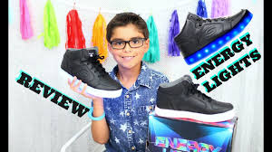 skechers energy lights reviews led enery lights by skechers back to full review youtube