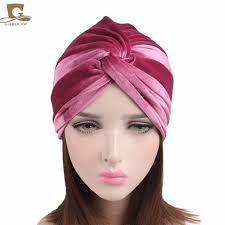 knotted headband new luxury soft velvet twist turban headwrap women knotted