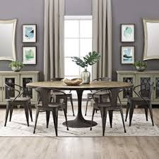 Dining Room Sets With Fabric Chairs by Oval Kitchen U0026 Dining Tables You U0027ll Love Wayfair