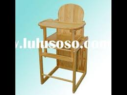 Antique Wood High Chair Wood Baby High Chair Antique Wood Baby High Chair Youtube