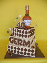 hennessy inspired 40th birthday bash cake amy stella flickr