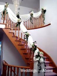 my reception venue features a huge staircase possibility