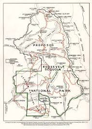 United States National Parks Map by Susan Thew Unsung Heroine Of Sequoia National Park Sequoia