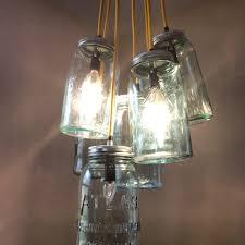 lovely mason jar pendant light diy fixtures light turn mason jar