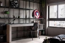 marvel heroes inspired industrial of style house triplecr com