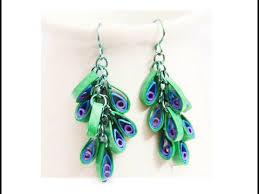 quilling earrings tutorial pdf free download 57 paper earring making how to make a cute multi circle earring
