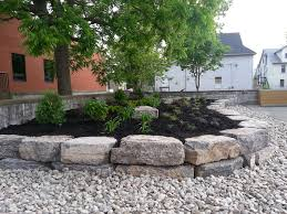 Raised Rock Garden by Raised Garden 2 4 River Rock Black Beauty Mulch U2013 Zarcon