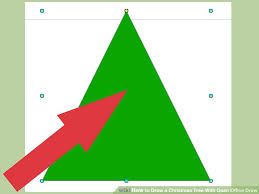 how to draw a christmas tree with open office draw with pictures