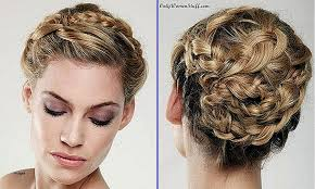 step bu step coil hairstyles curly hairstyles new cute updo hairstyles for short curly hair