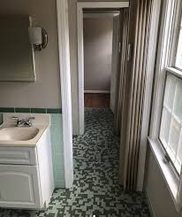 Bathroom Remodels Before And After See This Green Bathroom Makeover Before And After Today Com