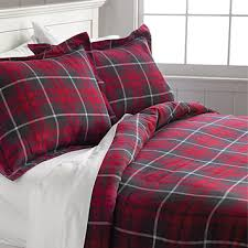 red plaid flannel duvet cover red plaid flannel duvet cover orvis
