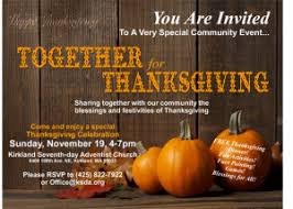 thanksgiving outreach dinner ksda