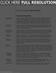 Resume Sample Product Manager by Operations Resume Samples Format For Mid Lev Splixioo