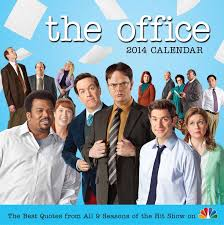 The Office Desk Calendar Nbcs The Office 2014 Day To Day Calendar The Best Quotes From All